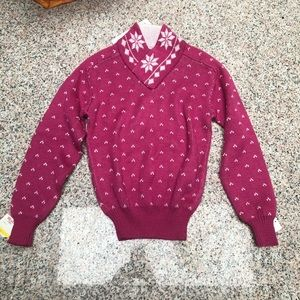 Junior ski sweater